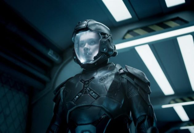 "Frankie Adams in ""The Expanse"""
