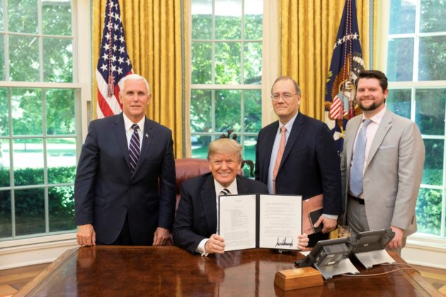 President Donald J. Trump is Reforming and Modernizing American Commercial Space Policy