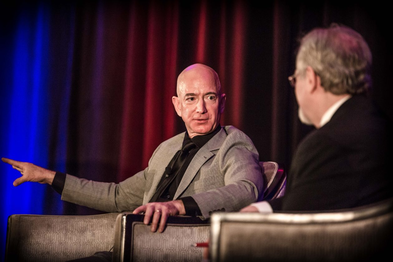 Jeff Bezos: 'We will have to leave this planet … and it's going to make th...