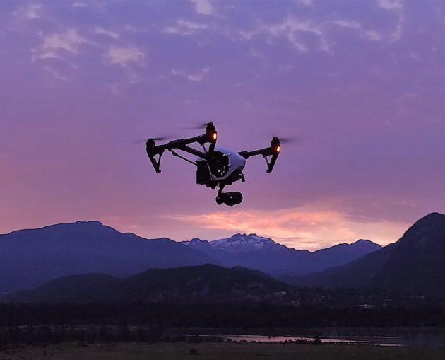 DJI Zenmuse drone