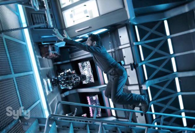 Zero-G somersault