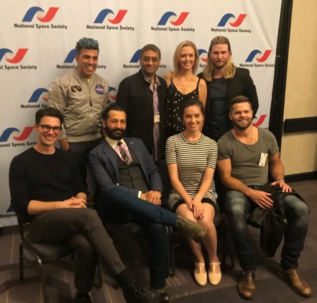 """Expanse"" cast and friends"
