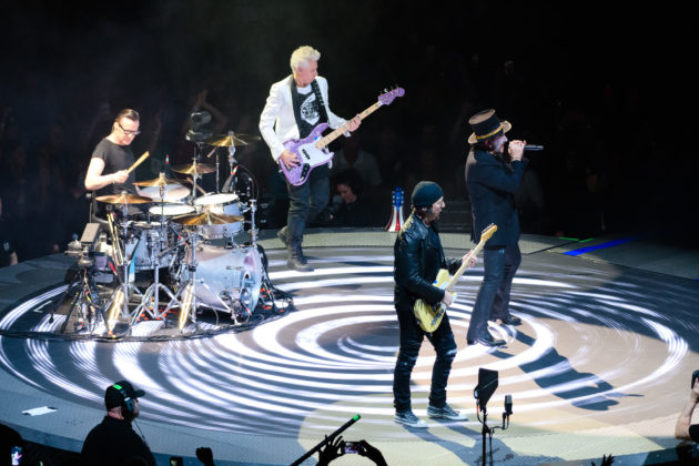 On tour with U2: How the iconic band is using new tech to