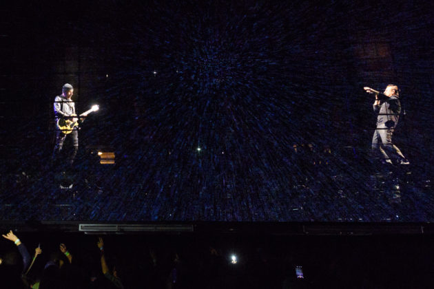 On tour with U2: How the iconic band is using new tech to make its