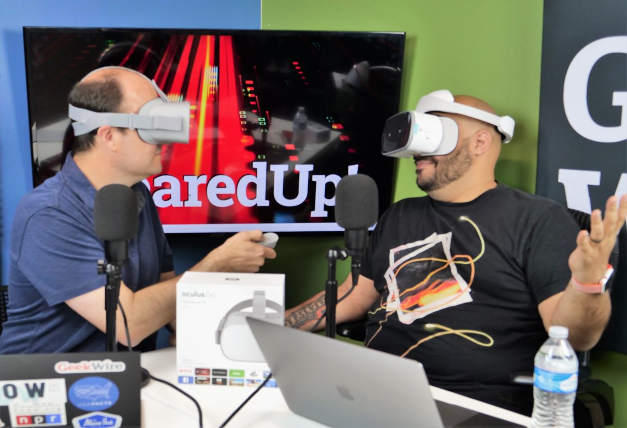 f6b36455294 Geared Up Podcast  Hands on with the new Oculus Go and Lenovo Mirage Solo  portable VR headsets