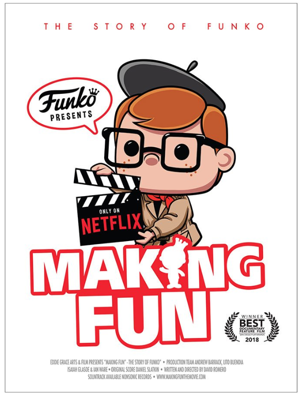 Making fun: The Story of Funko - Netflix