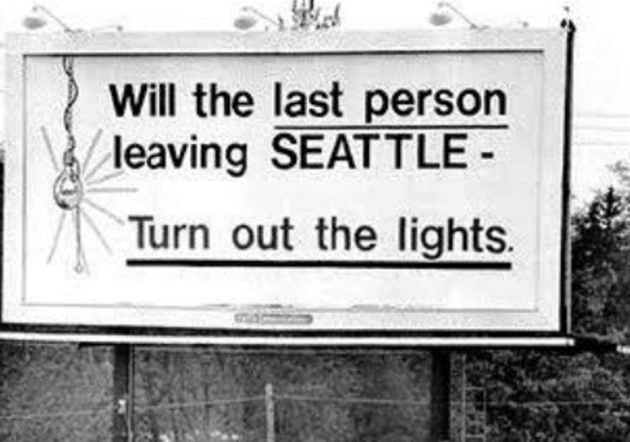 New sign of the times? Imagining a modern version of Seattle's ...