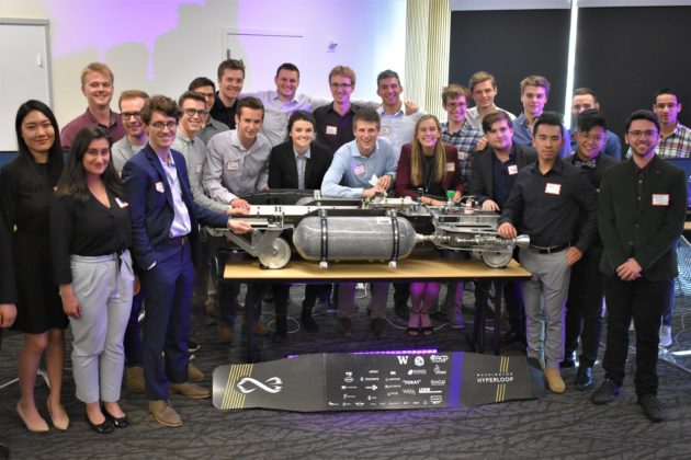 Washington Hyperloop team members