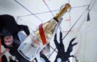 Champagne in zero-G
