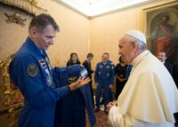 Pope and spacefliers