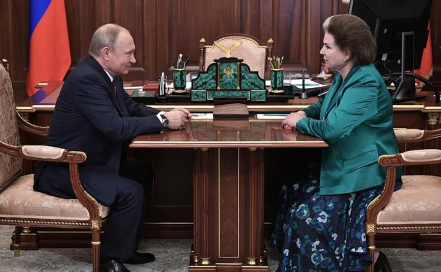 Putin and Tereshkova