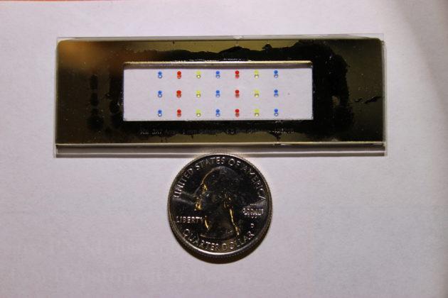 NanoPOTS chip