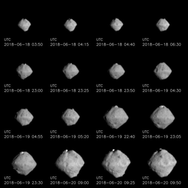 Hayabusa 2's views of Ryugu