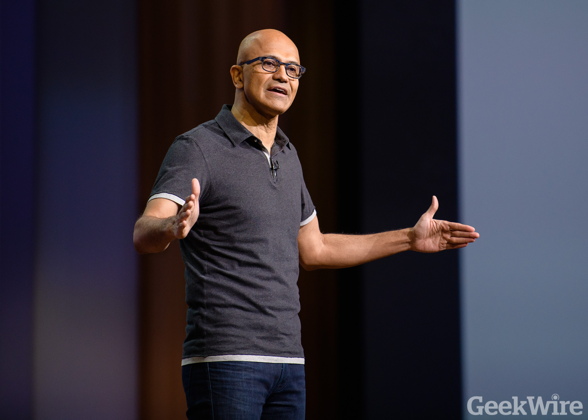 Microsoft's record year helps CEO Satya Nadella earn more than $25M