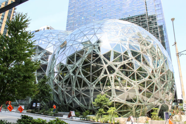 We Sent Geekwire S Summer Intern On An Amazon Hq Tour And It Was