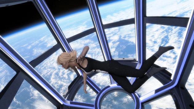 Zero gravity tourism