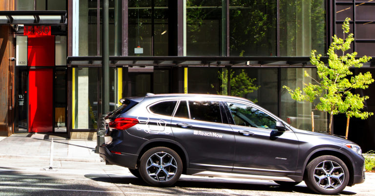 BMW's ReachNow investigating cases of cars getting stuck on
