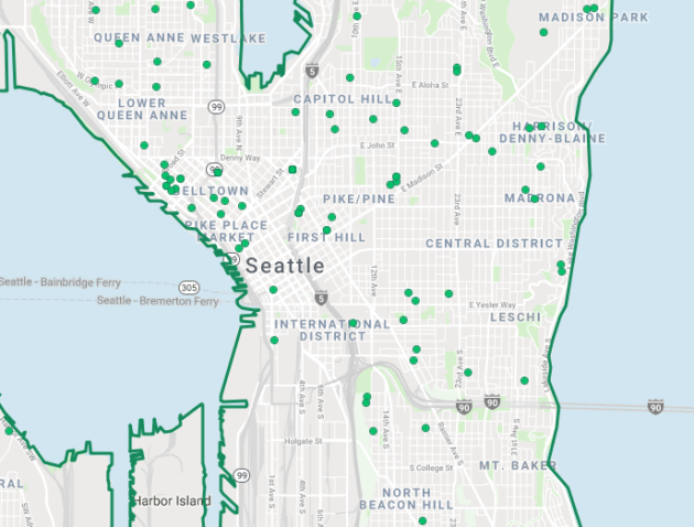 Us Map Seattle.Homes Sell Faster In Seattle Than In Any Other U S Real Estate