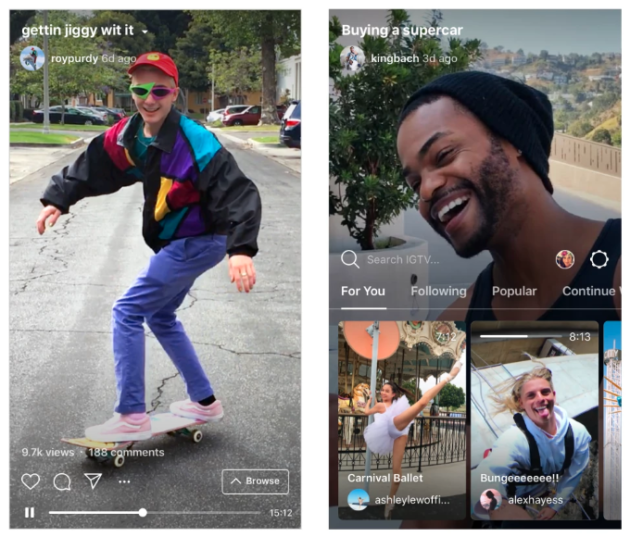 Instagram Announces Igtv A New Standalone App For