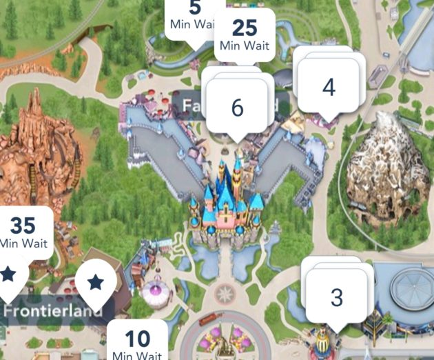graphic regarding Printable Disneyland Maps known as Disneyland Ideas? How we rode 17 sights in just a single working day