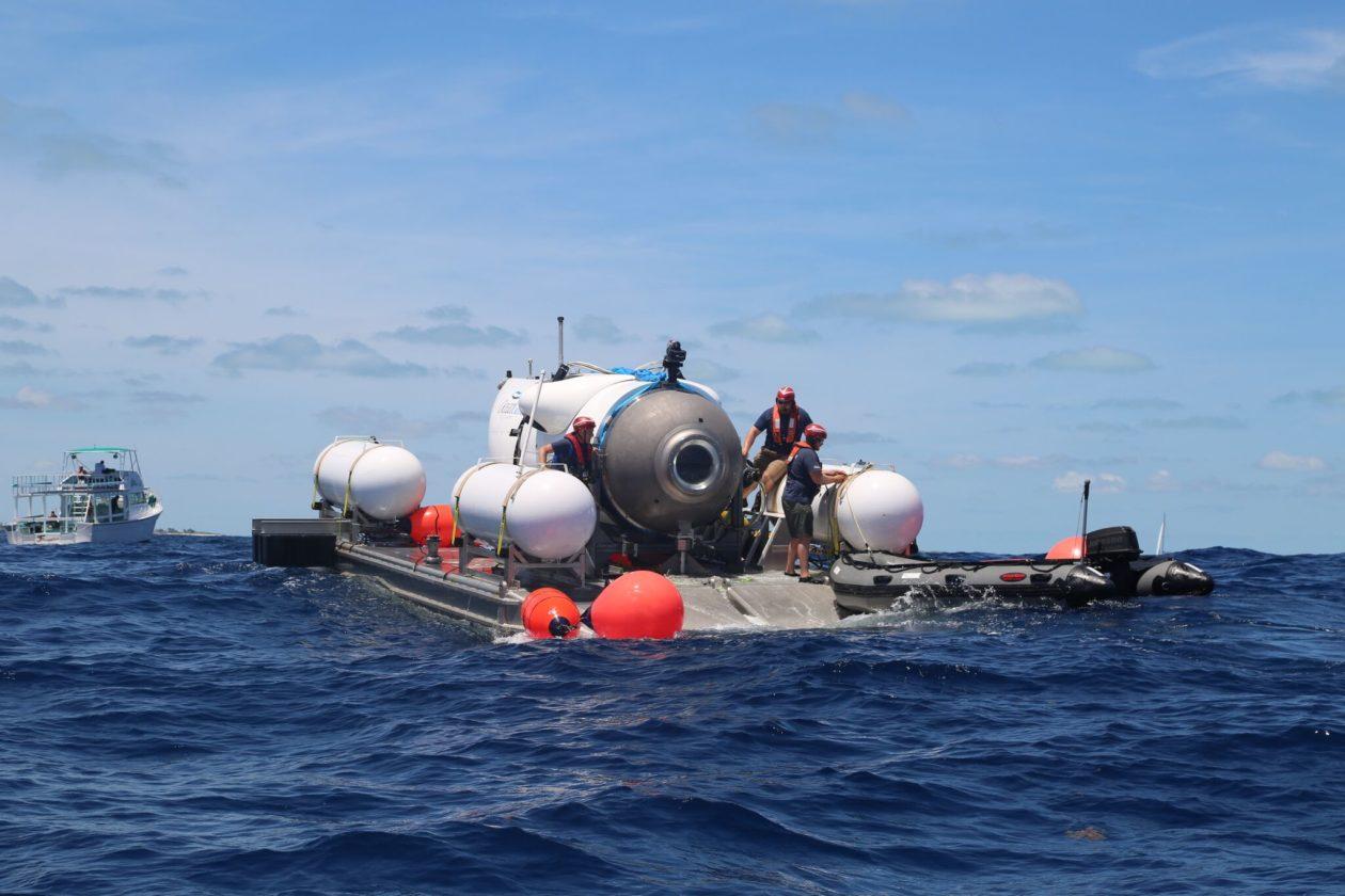 Preparing for Titan dive