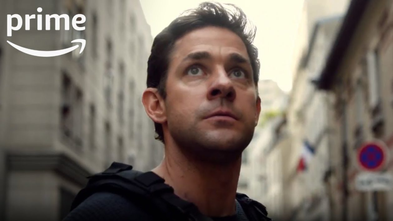 Out Of The Office Comedy Star Gets Serious In New Trailer For S Jack Ryan Series Geekwire