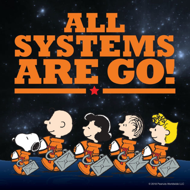 50 Years After Apollo The Peanuts Gang Gives Nasa A New Boost