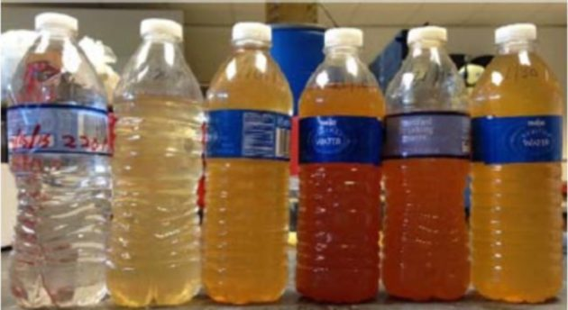 Flint water samples