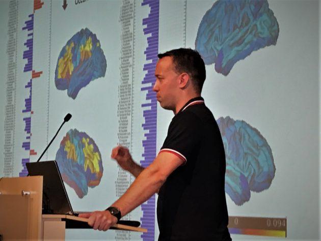 Brain researcher L.D. Lord