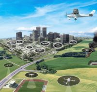 Drone traffic management system