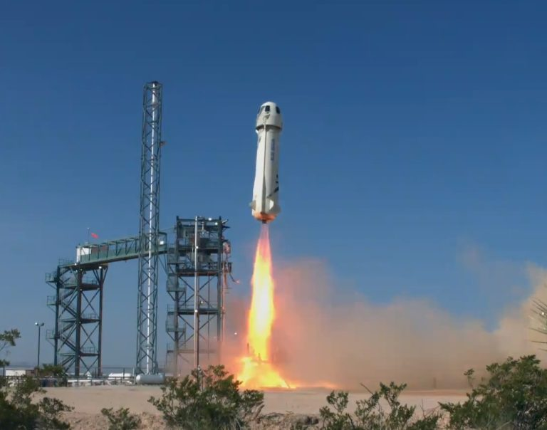 Blue Origin's spaceship totally survives its toughest test