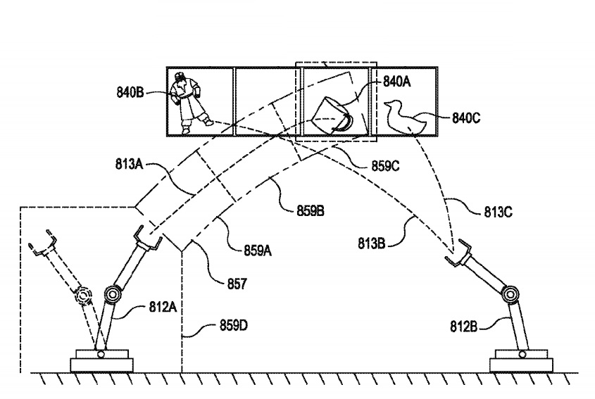Amazon Wins A Patent For Robotic Arms That Toss Warehouse Items