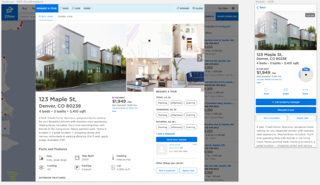 You can now pay rent and apply for apartments on Zillow as real