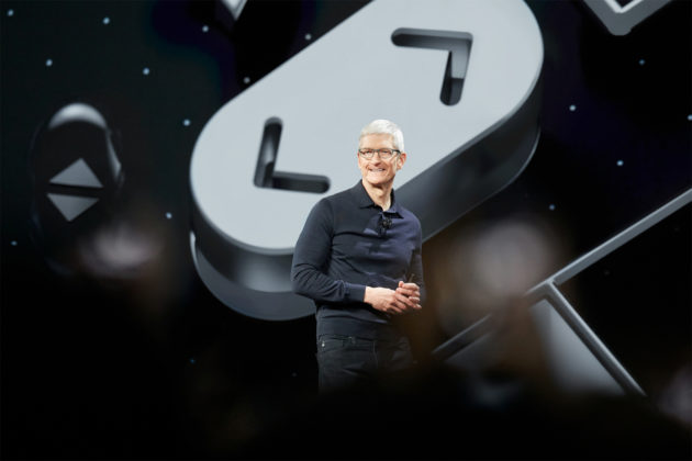 Apple CEO Tim Cook at WWDC 2018