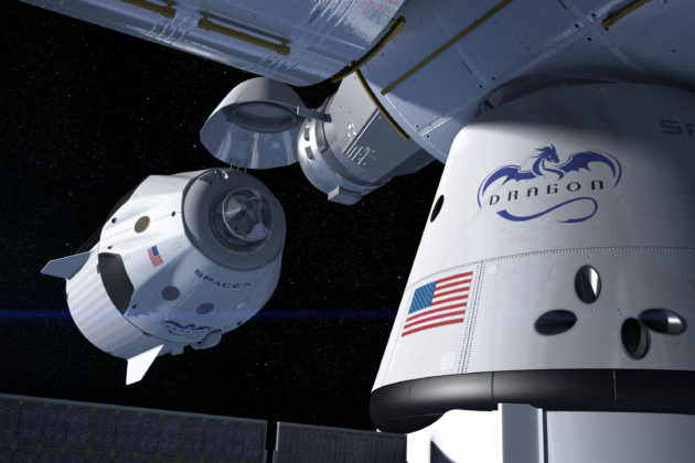 Blend of novices, veterans to fly on first private U.S.  spaceships