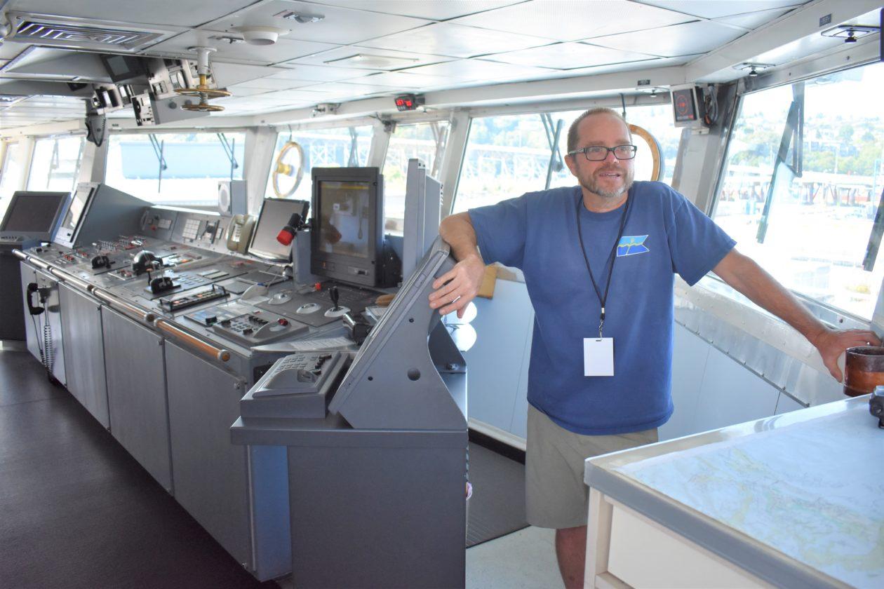 Captain Wes Hill