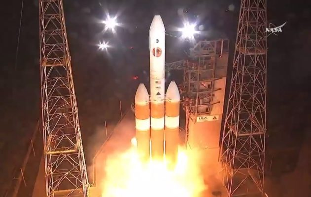 NASA blasts off historic probe to 'touch Sun'