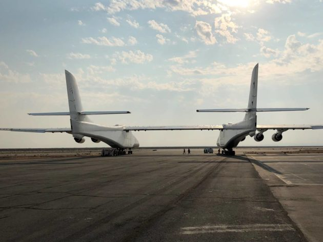 FAA certificate offers new details on Stratolaunch's plans for test
