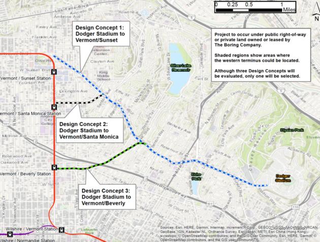 Dugout Loop route