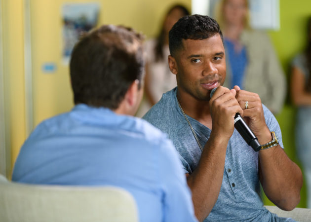 Russell Wilson is working on another game changing business venture