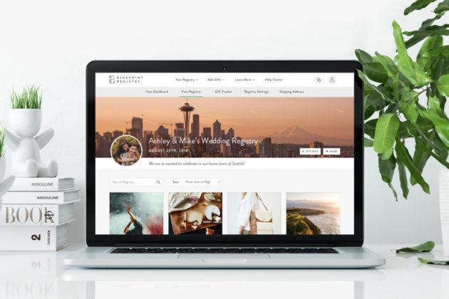 Davids bridal acquires digital gift registry startup blueprint blueprint registry photo malvernweather Images