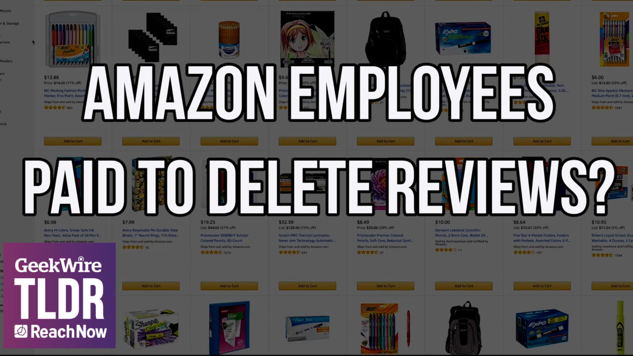 TLDR: Are third-party sellers paying Amazon employees to delete