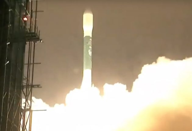 Delta II rocket launch from Vandenberg AFB