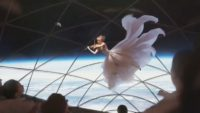 Space violinist