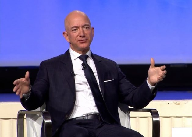 Full transcript: Jeff Bezos shares high-flying Amazon
