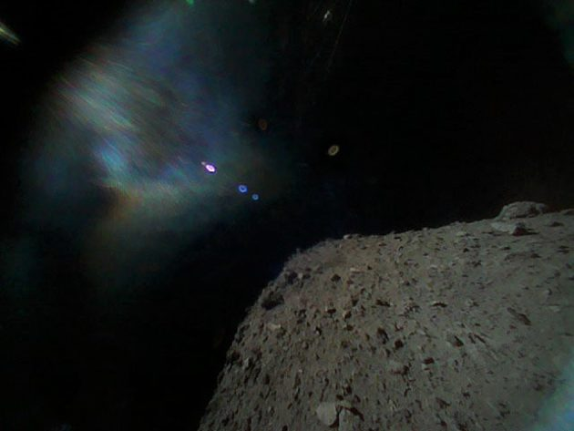 Japan spacecraft's rovers land on asteroid