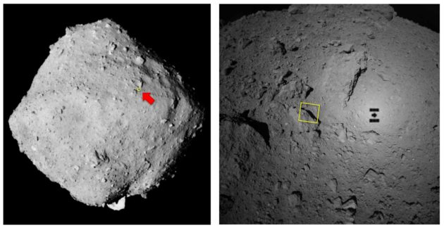 Context image of Ryugu
