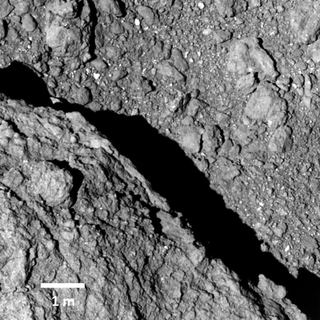 Ryugu close-up