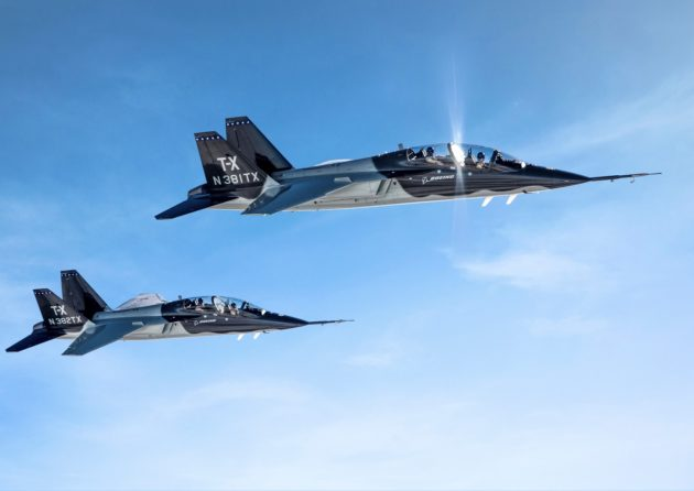 Boeing Wins $9.2B Contract for New Air Force Training Jet