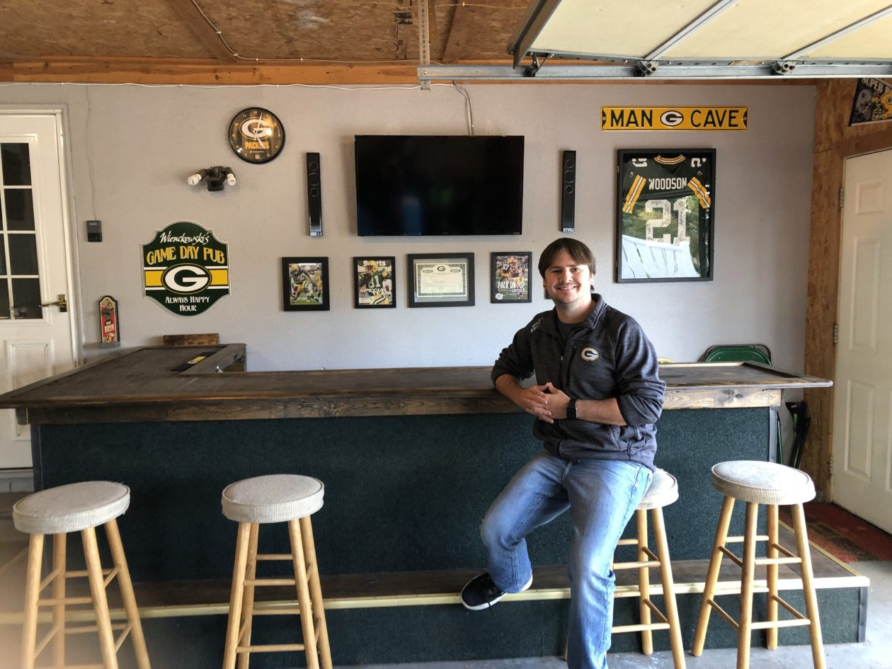 He lost his website to the Green Bay Packers and Microsoft, but diehard fan stands by his tech idea